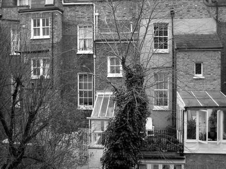 Traditional English dwellings in London Stock Photo - 4779467