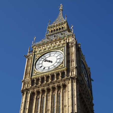 Big Ben at the Houses of Parliament, Westminster Palace, London, UK Stock Photo - 4779526