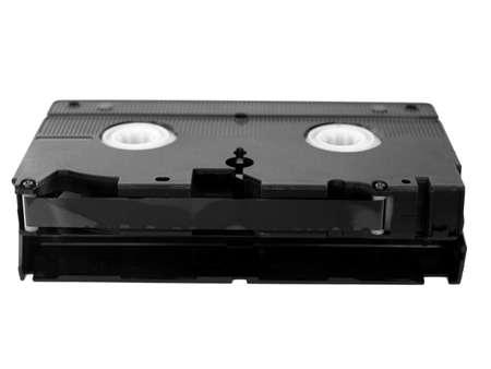vhs videotape: VHS Videotape magnetic tape cassette for video recording