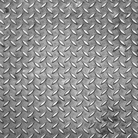 piastra acciaio: Lamiera di acciaio con diamanti utile come sfondo Archivio Fotografico
