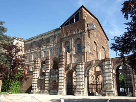 rivoli: Castello di Rivoli (Rivoli castle) near Turin, Italy Stock Photo