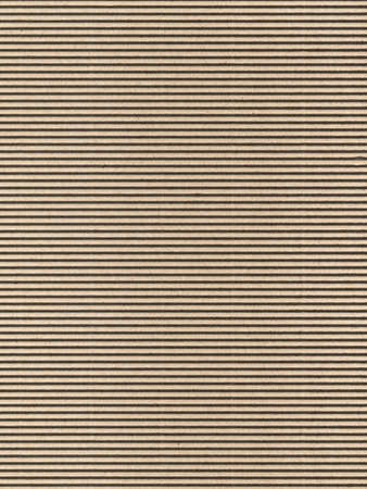 Seamless brown corrugated cardboard sheet useful as a background photo