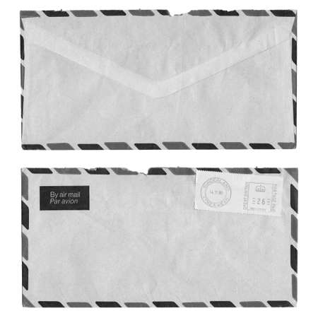 Airmail letter with UK postage meter stamp Stock Photo - 4985786