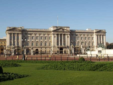 residence: Buckingham Palace, Royal residence in London, UK Stock Photo