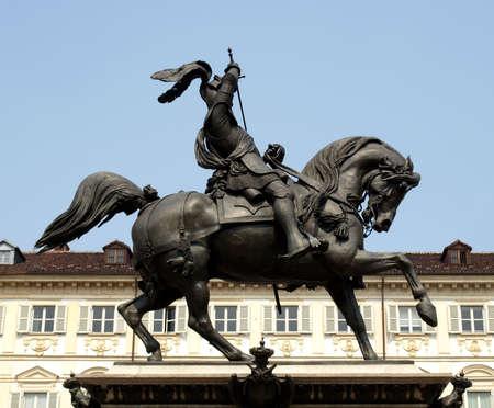 carlo: Equestrial statue in Turin, Piazza San Carlo