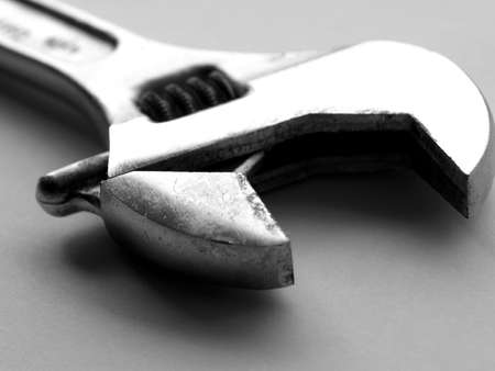 crescent wrench: Wrench spanner tool
