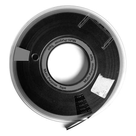 Magnetic tape reel for computer data storage Stock Photo - 5108845