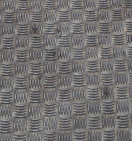 Diamond steel plate useful as a background Stock Photo - 5151645
