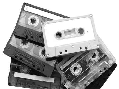 cassette tape: Magnetic audio tape cassettes for music recording