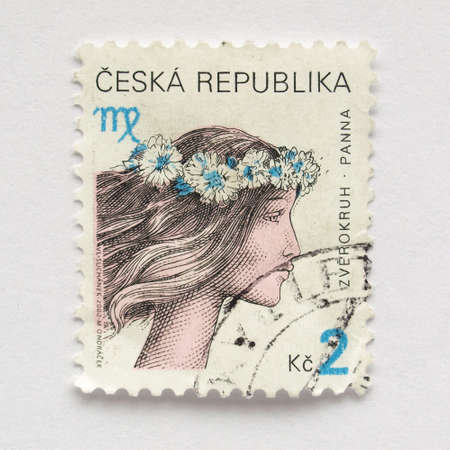 ceska: Stamp of the Czech Republic (European Union)