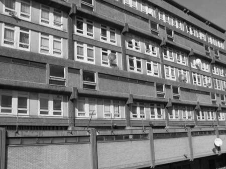 Trellick Tower in London iconic sixties new brutalism architecture