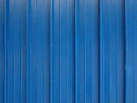 corrugated iron: Corrugated steel sheet useful as a background