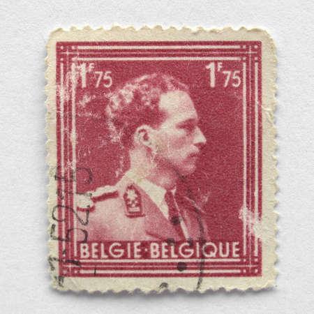 belgie: Belgian postage stamp from Belgium (European Union)