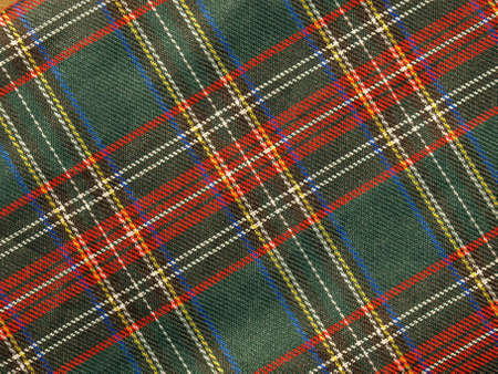 bedcover: Traditional Scottish tartan textile pattern useful as a background
