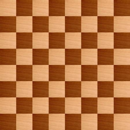 tablero de ajedrez: Tablero de madera con damas de madera de luz y la oscuridad