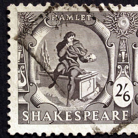 UK 1964 - Shakespeare Festival Stamp, United Kingdom, 1964 Stock Photo - 5623129