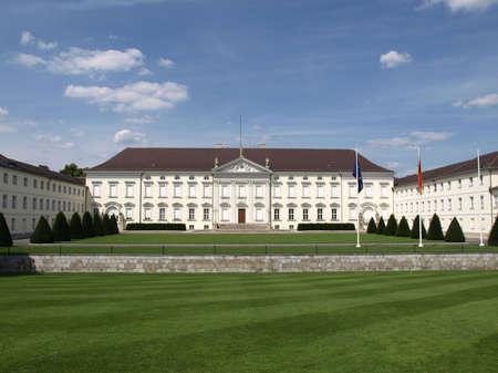 bellevue: Schloss Bellevue, Berlin - historical baroque royal palace
