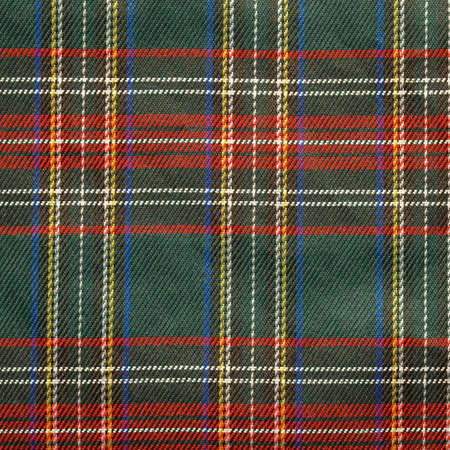 coverlet: Traditional Scottish tartan textile pattern useful as a background