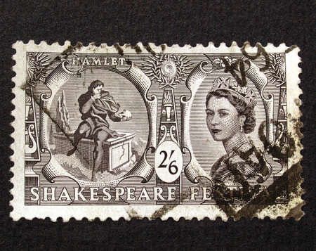 UK 1964 - Shakespeare Festival Stamp, United Kingdom, 1964 Stock Photo - 5737208
