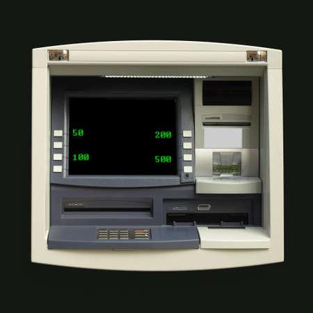 automatic teller machine: Automatic Teller Machine (ATM) para la retirada de efectivo en un Banco