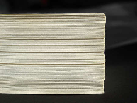 office use: Blank sheets of A4 paper for office use Stock Photo
