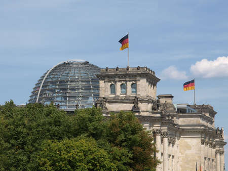 Berlin Reichstag (Houses of Parliament) in Germany