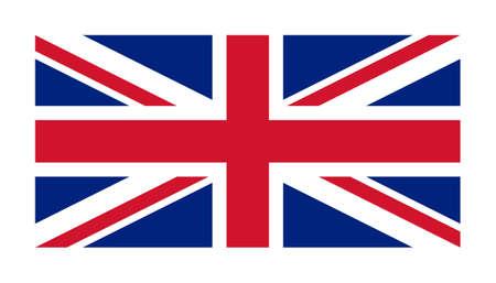 bandera inglesa: La bandera nacional de Reino Unido Foto de archivo