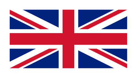 The national flag of United Kingdom