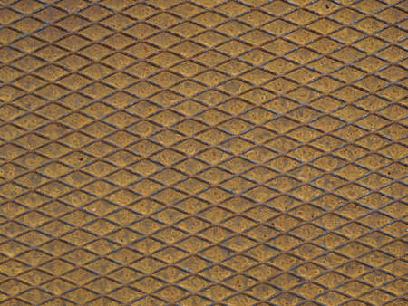 Rusted diamond steel plate useful as a background Stock Photo - 6044408