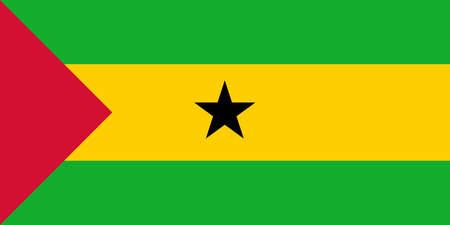 principe: La bandera nacional de Santo Tom� y Pr�ncipe