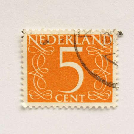 nederland: Stamp of the Netherlands (in European Union)