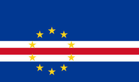 cape verde: The national flag of Cape Verde