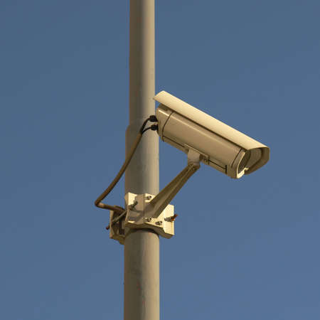 Closed Circuit TV video camera for security surveillance photo