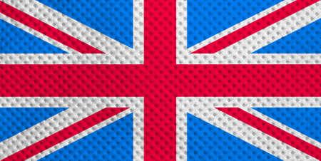 Union Jack national flag of the United Kingdom (UK) Stock Photo - 6432450