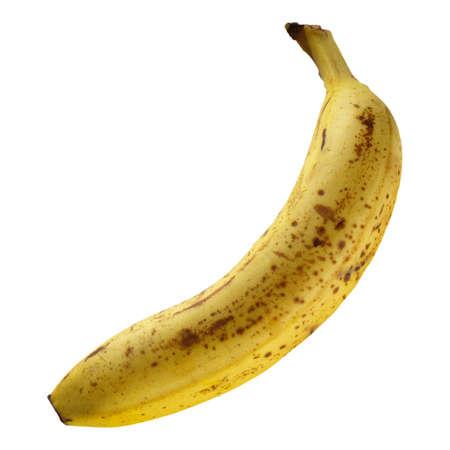 Banana fruit isolated over a white background photo
