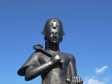 Ancient Egyptian sculpture statue Ramses II Pharaoh of Egypt Stock Photo - 6577760