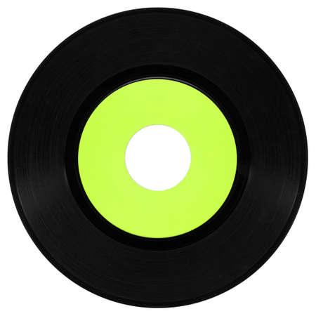 Vinyl record vintage analog music recording medium Stock Photo - 6753743