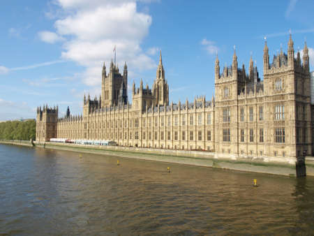 Houses of Parliament, Westminster Palace, London gothic architecture photo