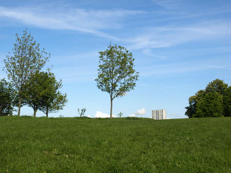 Primrose Hill park in London, England, UK Stock Photo - 7000740