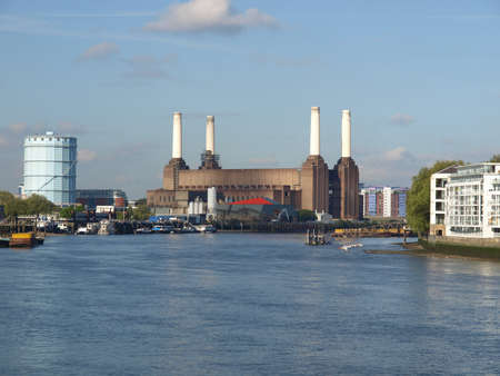 Battersea Power Station in London, England, UK Stock Photo - 7034143