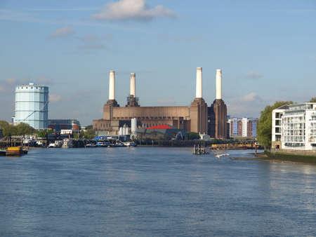 Battersea Power Station in London, England, UK Stock Photo - 7034143