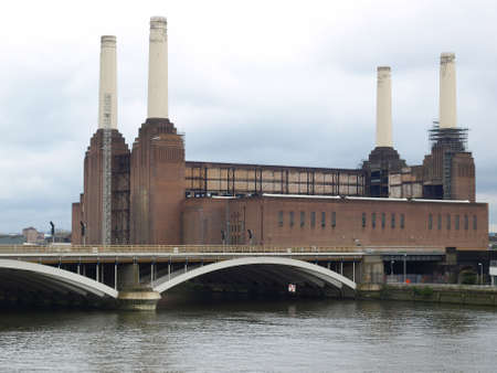 Battersea Power Station in London, England, UK Stock Photo - 7034724