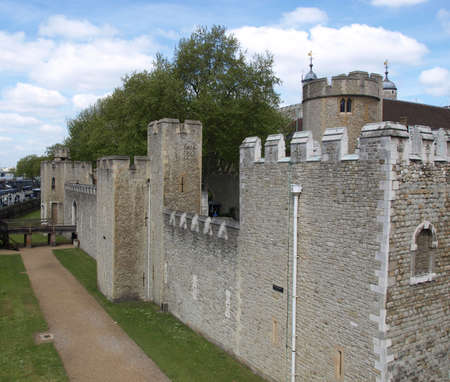 The Tower of London, medieval castle and prison Stock Photo - 7034736