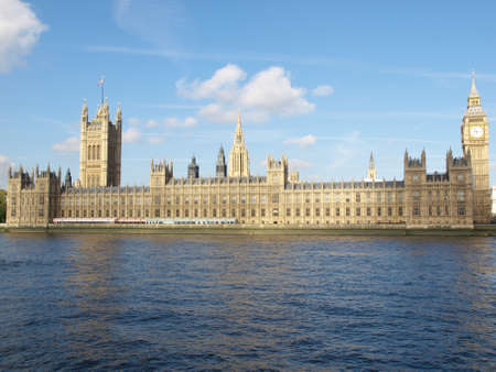 westminster: Houses of Parliament, Westminster Palace, London gothic architecture