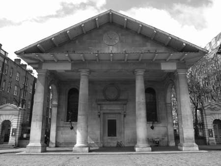 covent: Saint Paul church in Covent Garden, London, UK