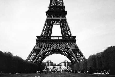 Eiffel Tower (Tour Eiffel) in Paris, France