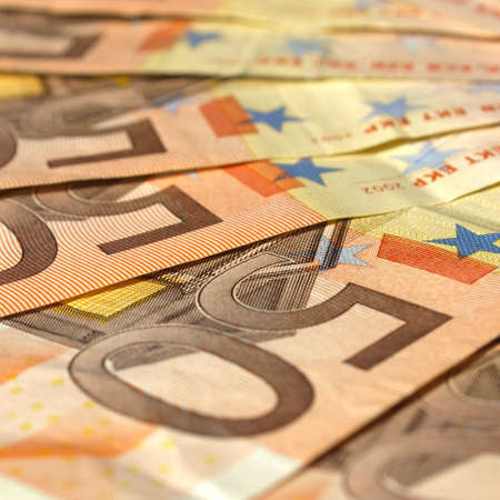 Euro banknote (currency of the European Union) photo