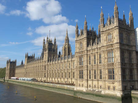 parliament: Houses of Parliament, Westminster Palace, London gothic architecture
