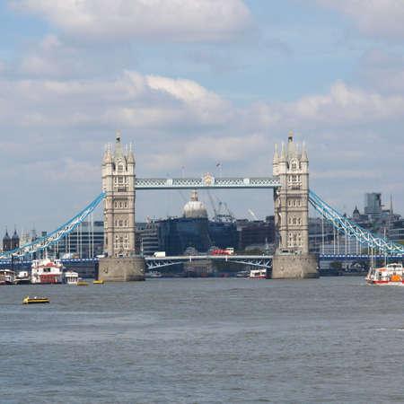Tower Bridge on River Thames, London, UK Stock Photo - 7159104
