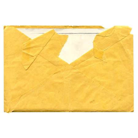 A letter envelope for mail postage shipping - vintage photo